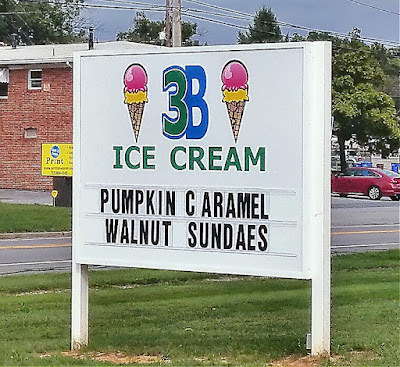 3B Ice Cream in Harrisburg Pennsylvania
