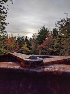 Autumn Bridge At Mary Ann Falls Along The Cabot Trail, Cape Breton Island