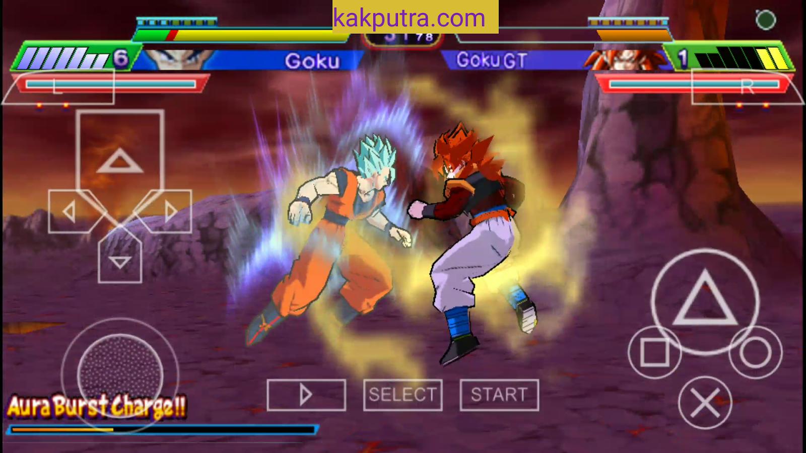 download game ppsspp dragon ball z shin budokai 6