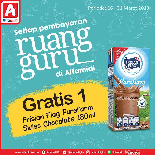 #Alfamidi - #Promo Bayar Ruang Guru Gratis 1 Frisisan Flag 180ml (s.d 31 Mar 2019)