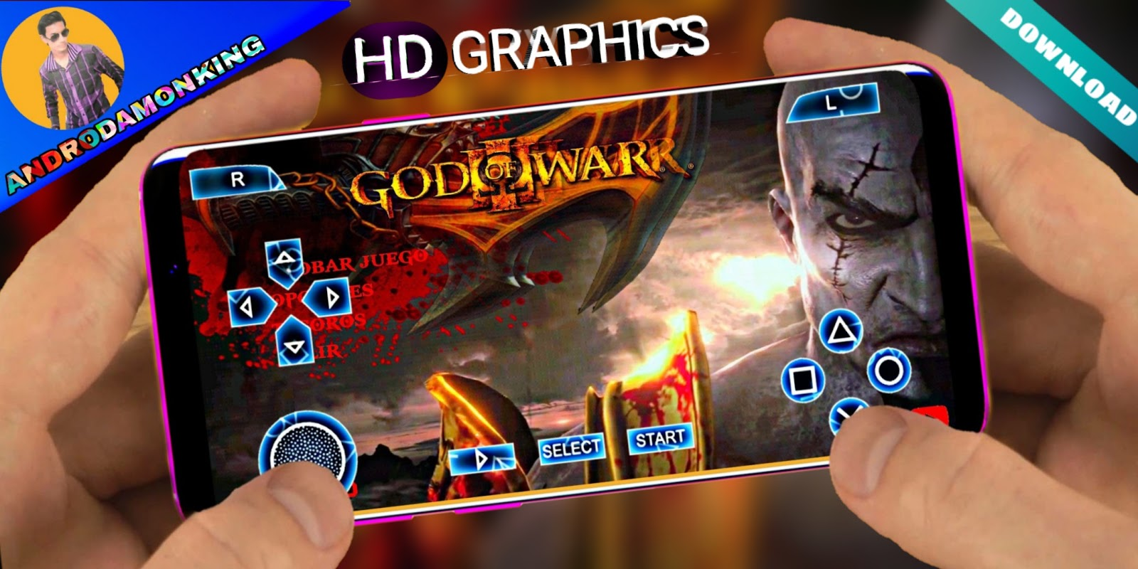 HOW TO DOWNLOAD GOD OF WAR 3 FOR ANDROID LAUNCHED - ANDRODAMON KING