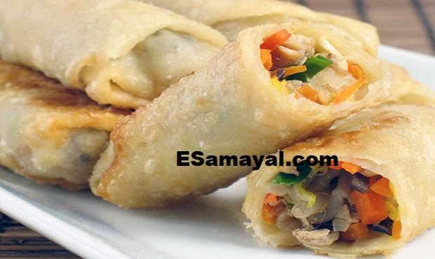 ஃபிஷ் ரோல் செய்வது | Fish roll Recipe !