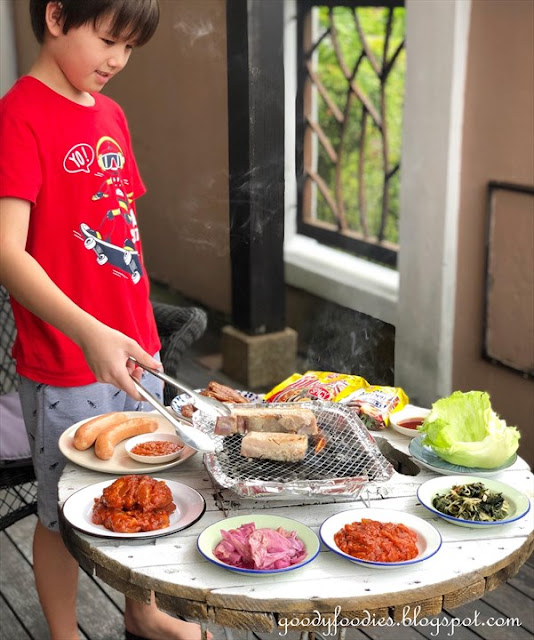 Apple Samgyupsal: Korean BBQ At Home