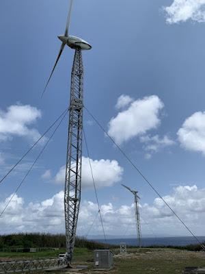 可倒式風力発電設備