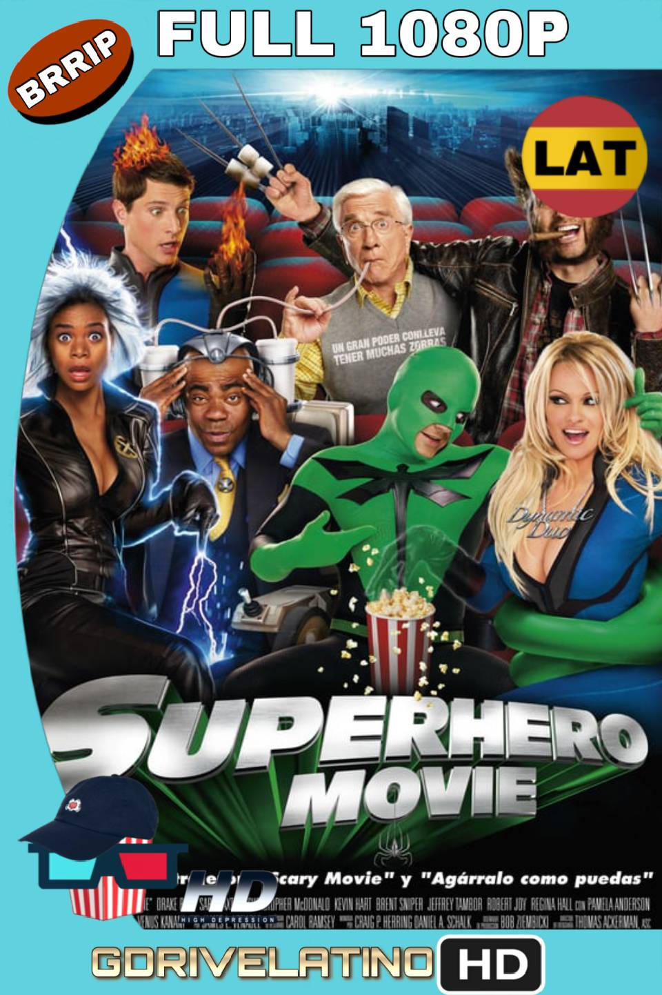 Superheroe La Pelicula (2008) Latino-Inglés FULL 1080p BRrip MKV