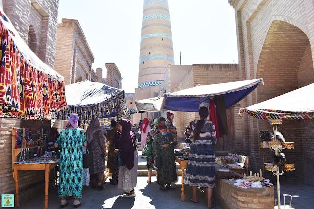 Khiva, Uzbekistán