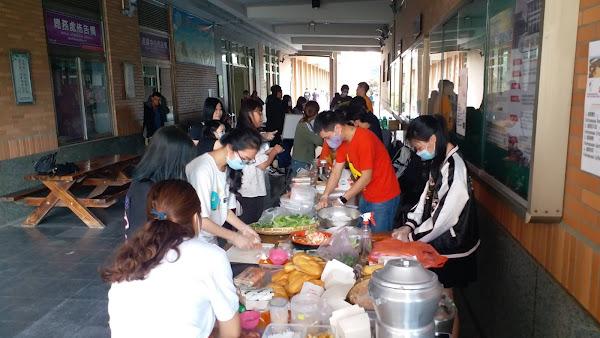 明道大學辦異國文化交流 越南生用庶民小吃交朋友