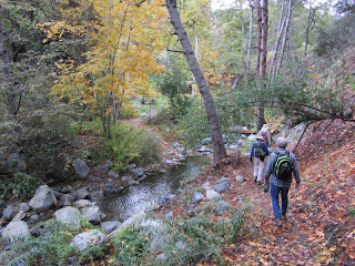 Gabrielino Trail Approaching Valley Forge Trail Camp