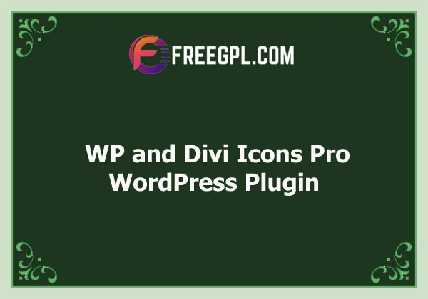 WP and Divi Icons Pro Free Download