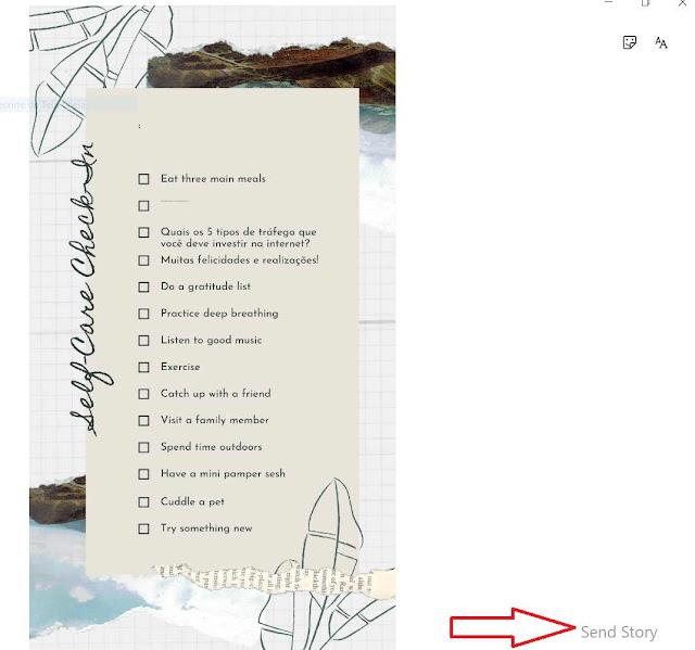 Como publicar no Stories?