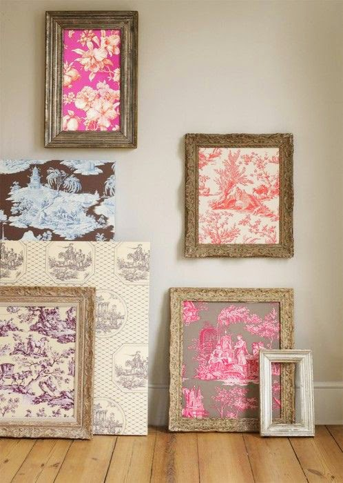 fabric framed