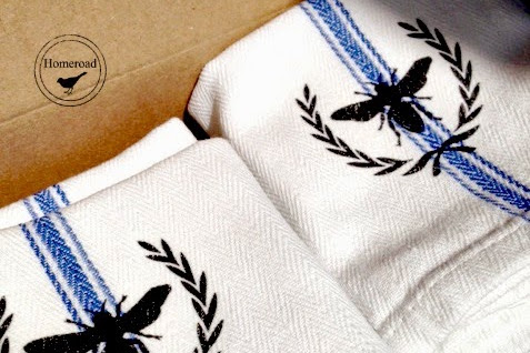 Cotton Bee Towels
