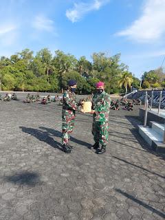 Diskum lantamal IV beri penyuluhan BANKUM di lingkungan TNI AL