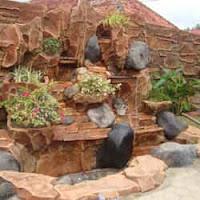Cara Membuat dan Membentuk Batu Tebing Relief Dari Semen