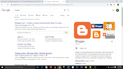 How To Start Your Own Blog 2020 Using Blogger