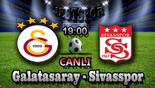 Galatasaray - Sivasspor Jestspor izle