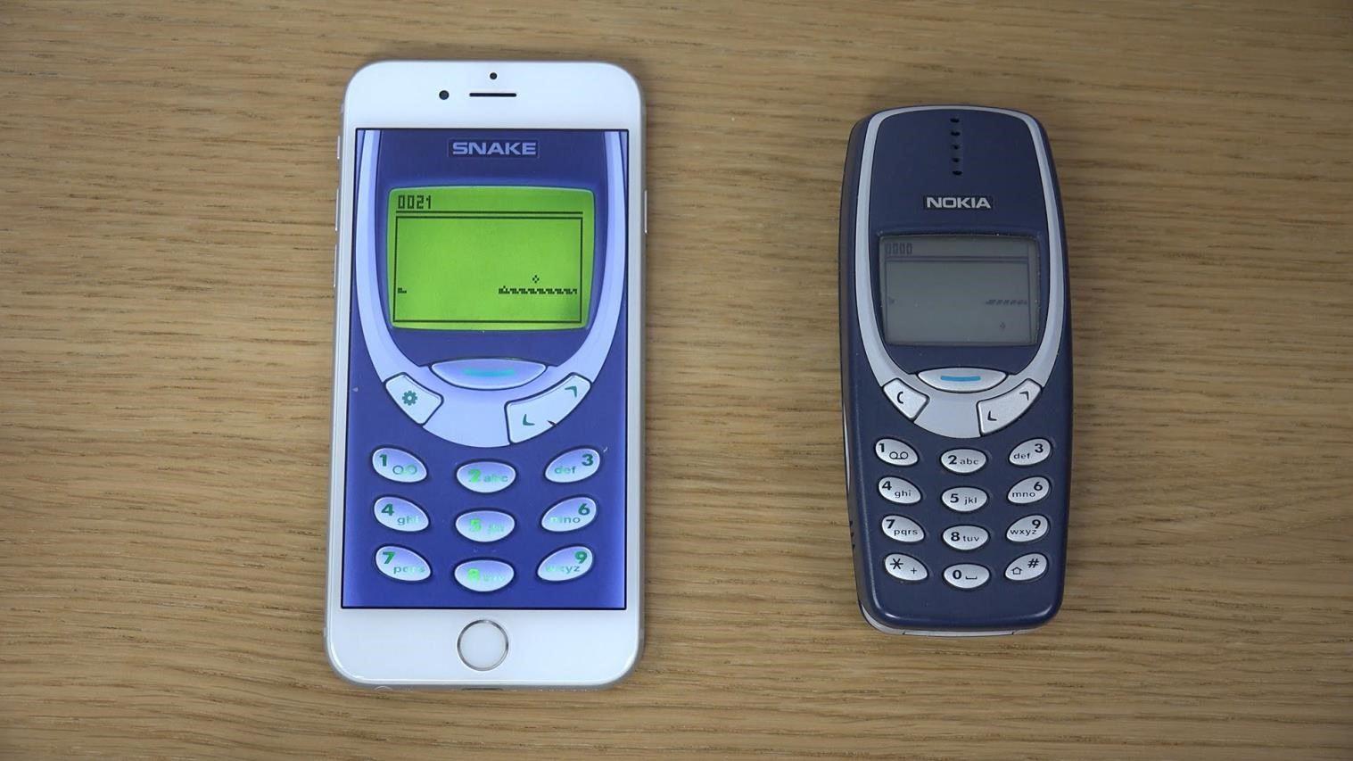nokia 3310 iphone 6