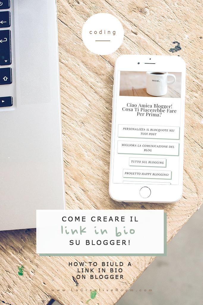 come inserire il link in bio di instagram direttamente sul tuo blog su Blogger