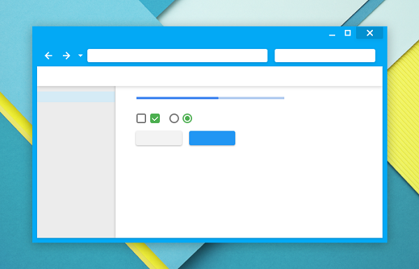 Material Design is Furture Browser Design