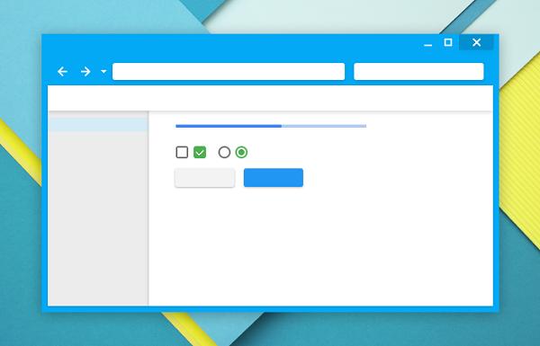 Material Design is Furture Browser Design