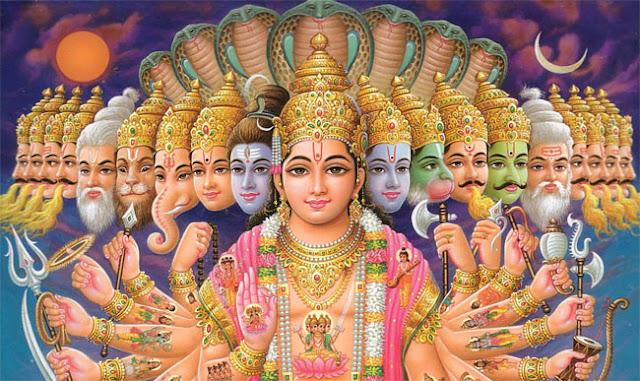 Hindu GOD. Divine Soul (Paramatma). Almighty.