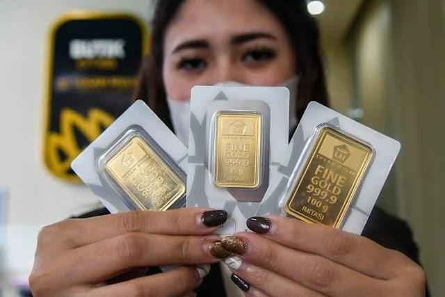 Emas Turun Rp 3.000, Simak Rincian Harga Emas Antam Hari Ini