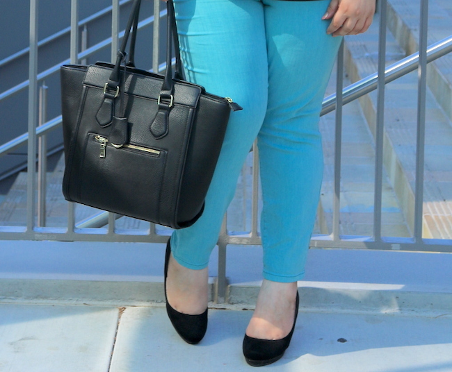 Turquoise Blue Jeans From torrid are perfect for spring.