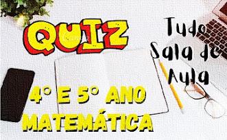 Prova online de matemática 4° e 5° ano sobre Expressões Numéricas
