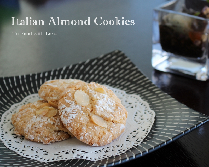 To Food with Love: Best Ever Italian Almond Cookies