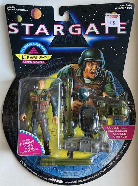 Lt. Kawalski, Hasbro Stargate, 1994, MOC, Carded