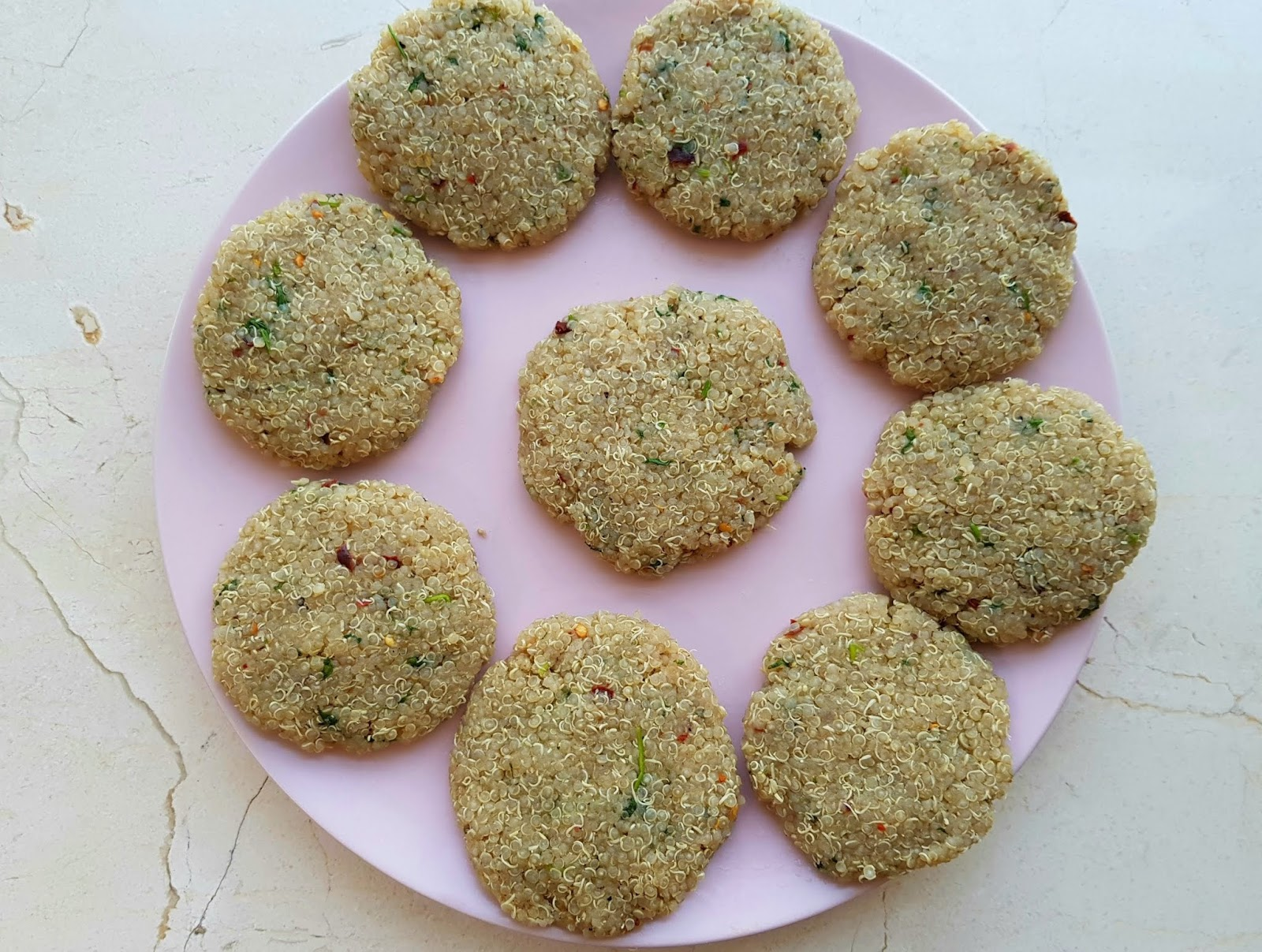 Vegan quinoa cutlet - vegan protein recipe - high protein lunch