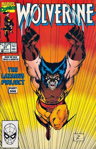 Traje marrón de Wolverine en su propia serie