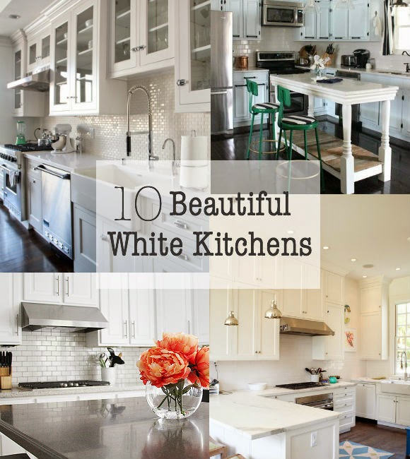 Beautiful white kitchens that are sure to inspire!