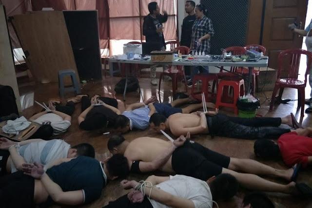 Polda Metro Jaya Deportasi 85 Warga China Anggota Sindikat Penipuan