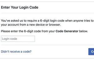 Cara Mendapatkan Code Generator Facebook
