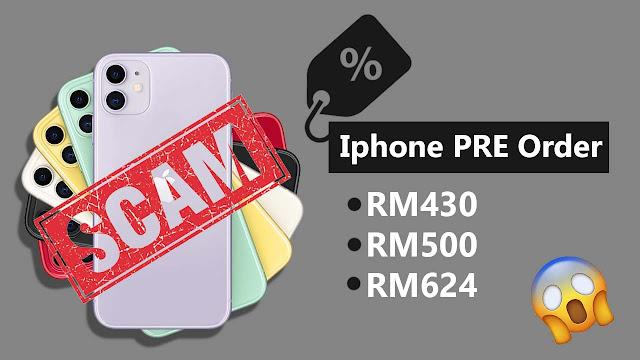 Promo Harga Murah Iphone PreOrder Scam!
