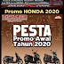 Brosur Harga PROMO TAHUN BARU 2020 Kredit Cash Motor Honda Purwodadi Grobogan