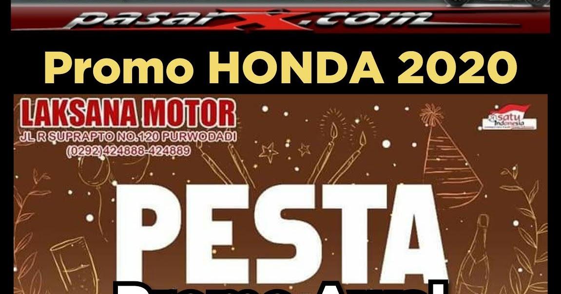Brosur Harga PROMO TAHUN BARU 2020 Kredit Cash Motor Honda ...
