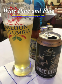The Free Dive IPA is from a local microbrewery called Copeprtail based in Tampa, Florida