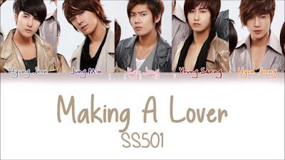 Lirik Lagu Making A Lover [ SS501] Sesange Sorijilleo & Terjemahan, Makna Lengkap