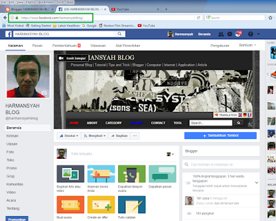 Membuat dan Memasang Fanspage Facebook di Blog