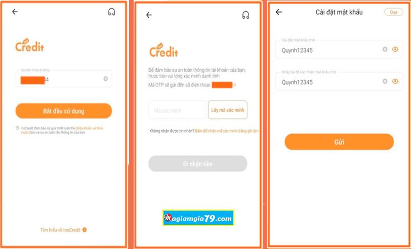 App vay tiền online uy tín Inscredit