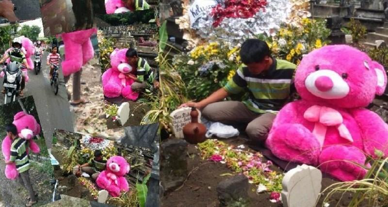 Bawa Boneka Raksasa Ke Kuburan Mantan - FBTakeshi San