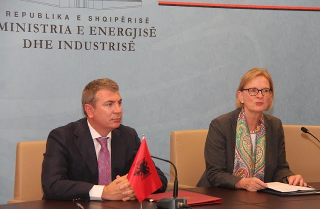 The interconnection line Albania-Macedonia, signed the financing agreement