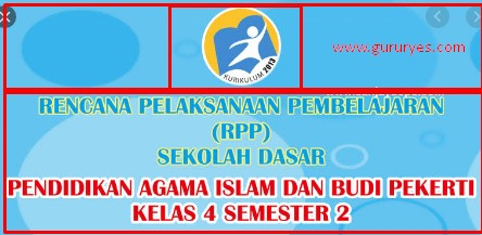 Download RPP Kelas 4 Semester 2 Revisi 2018