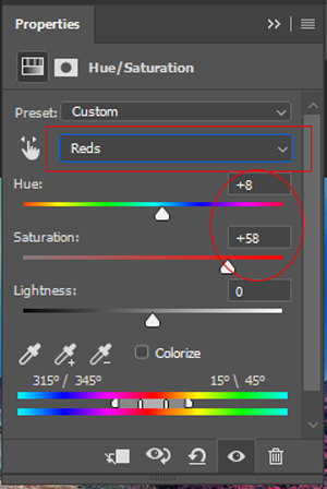 edit foto photoshop efek infrared