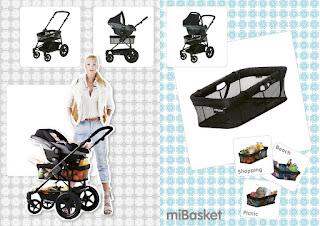 Kinderwagen accessoires miBasket