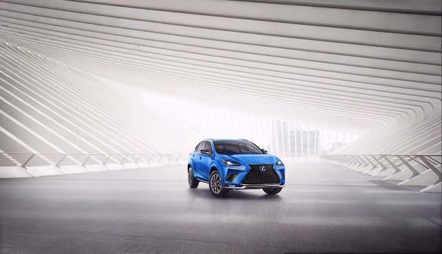 2021 NX Hybrid F SPORT Gets A Touch Of Style With Black Line Flare