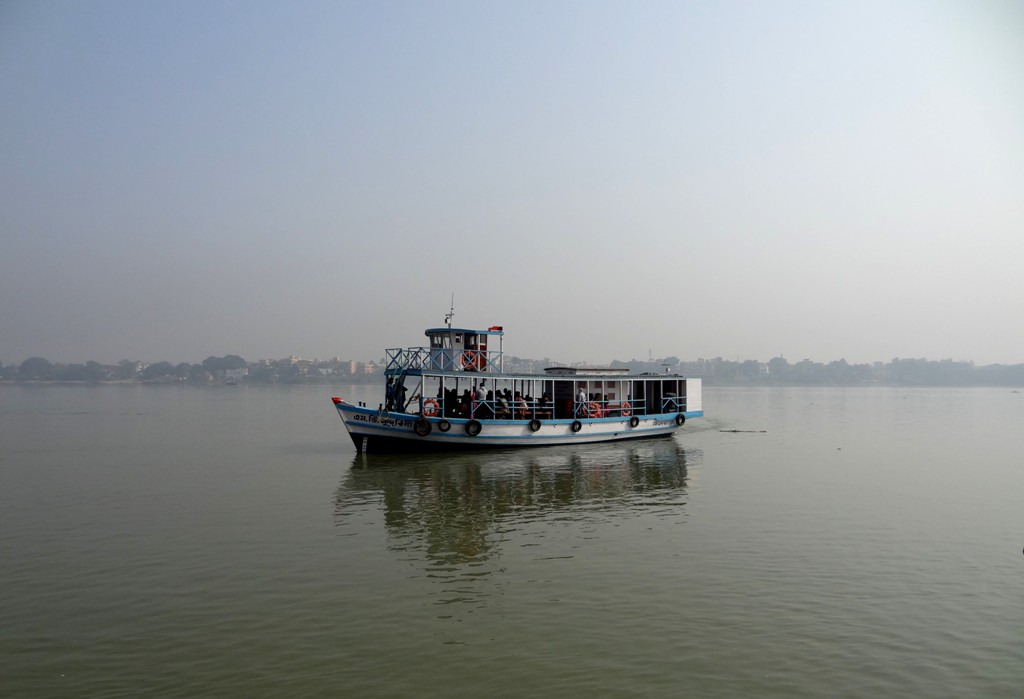 The ferry between Belur Math and Dakshineswar Kali temple - Kolkata