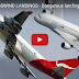 Dangerous landings in extreme wind conditions and storms